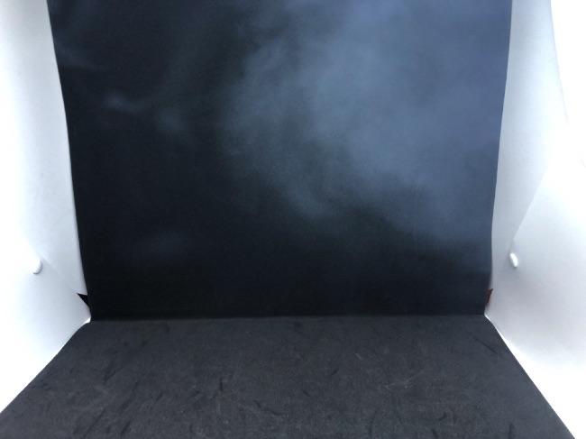 iQOSの煙写真