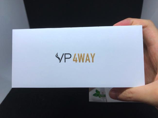 VP 4WAYのパッケージ