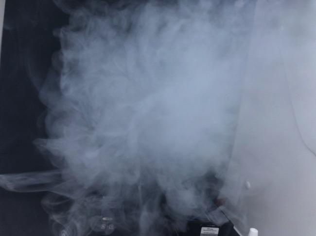 VP COREの煙量