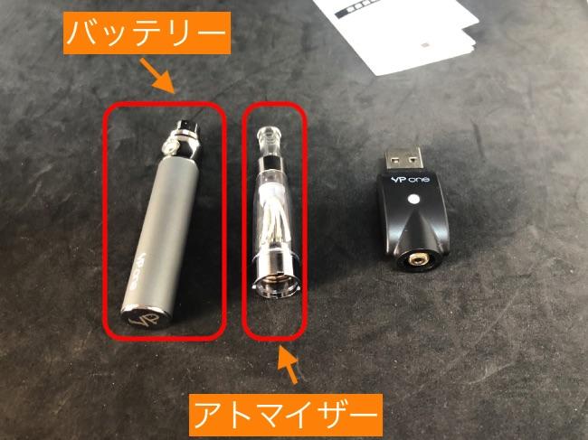 VP ONEのUSB充電器の使い方