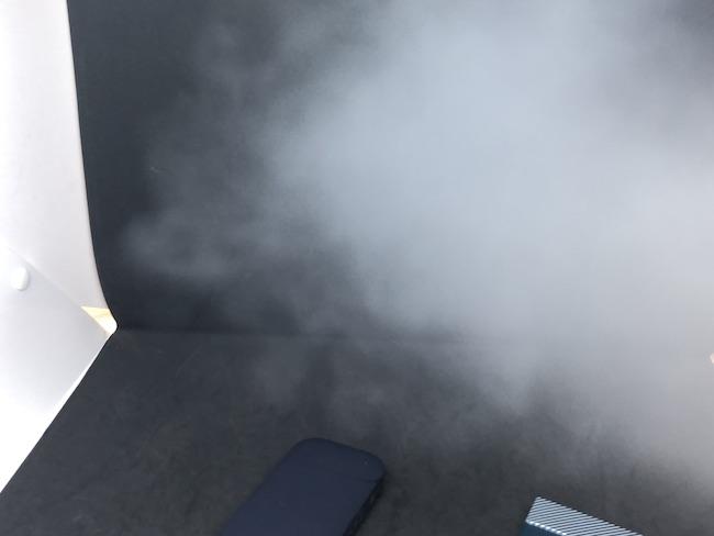ニコレスの煙