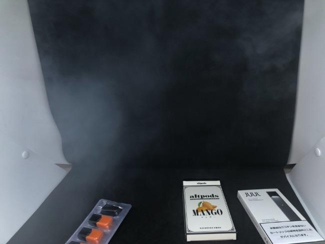 JUULの煙